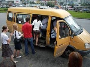 Стоимость проезда в маршрутном такси Якутска с 1 января подорожает