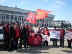 протест москвичей
