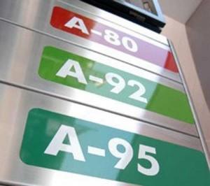 Средние цены на заправках в Калининградской области, 19 января 2012 год