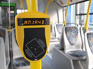 В общественном транспорте Астаны начнет действовать электронная система оплаты проезда