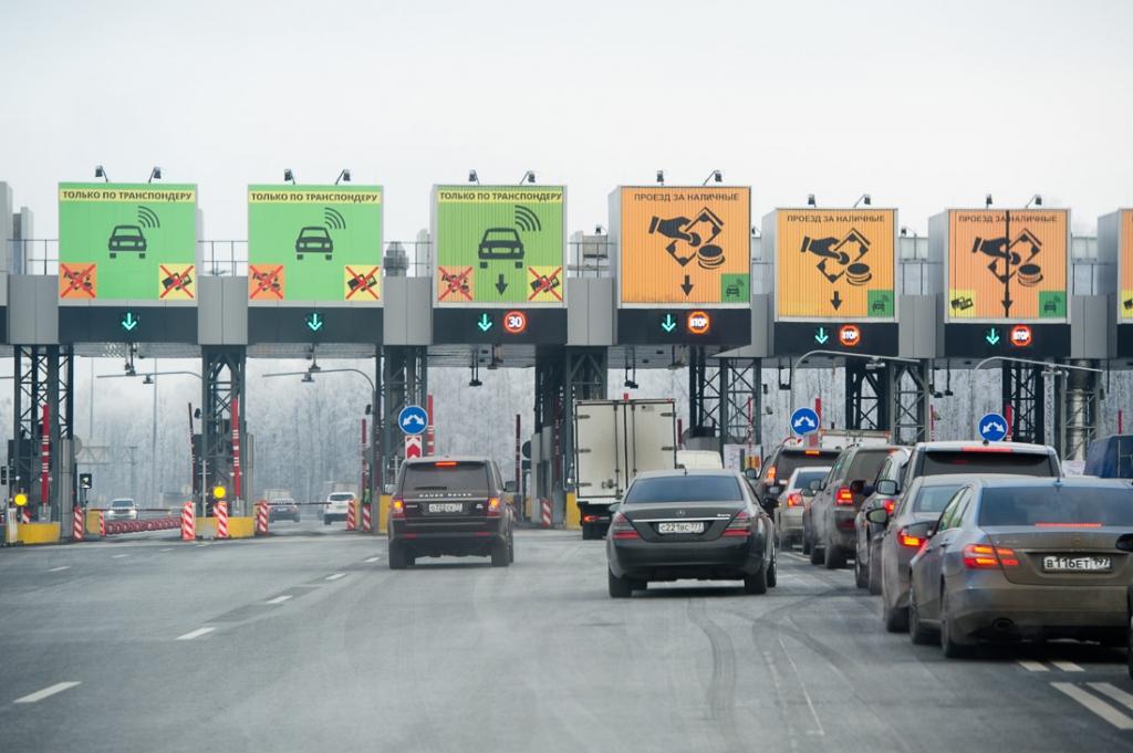 На части платной дороги Москва — Санкт-Петербург повысились тарифы