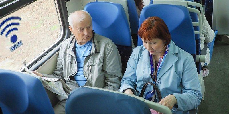Пенсионерам Москвы и Подмосковья ввели бесплатный проезд в электричках с 1 августа