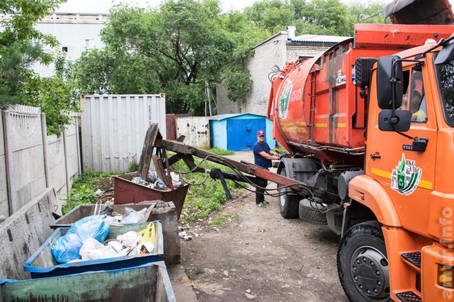 Благовещенцев просят увеличить тариф на вывоз мусора в два раза