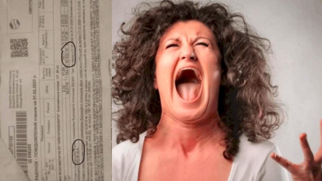 53 тысячи гривен платежка за январь: киевлянка показал квитанцию за отопление