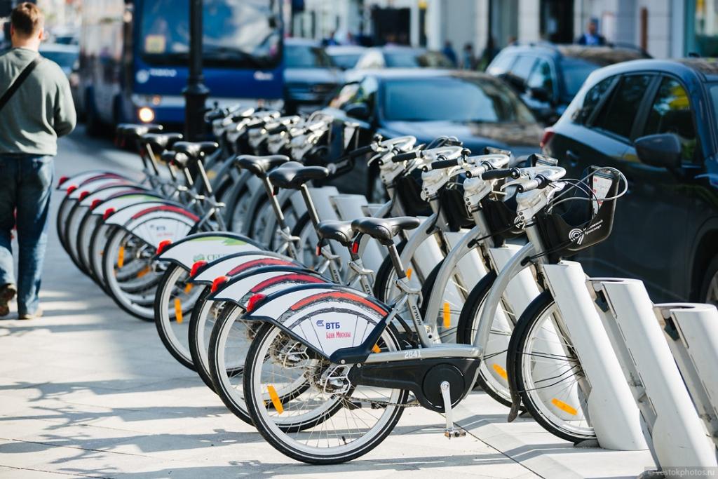 Москвичи свыше 1,3 миллиона раз пользовались велопрокатом в этом сезоне