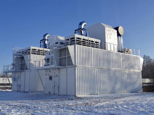 Контейнерные газопоршневые электростанции позволят получить электроэнергию по цене ниже двух рублей за киловатт - бонус бесплатная тепловая энергия!