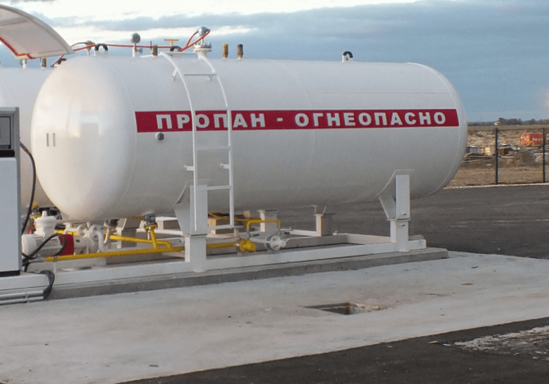 В Омской области зафиксируют цену на сжиженный газ в баллонах