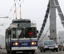 Москва - тарифы на общественный транспорт в 2013 году