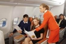 Минтранс предложил исключить из цены - тарифа на авиабилеты плату за питание