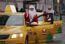 Taxify компенсирует завышенный тариф на поездки в новогоднюю ночь