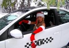 В Сыктывкаре такси перешли на новогодние тарифы