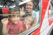 Аэроэкспресс на месяц вводит тариф для детей до 14 лет стоимостью 1 рубль