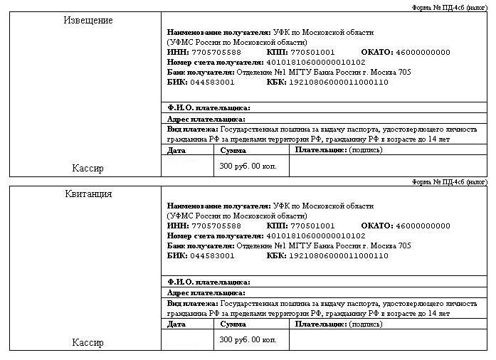 Загранпаспорт по московской области красногорск