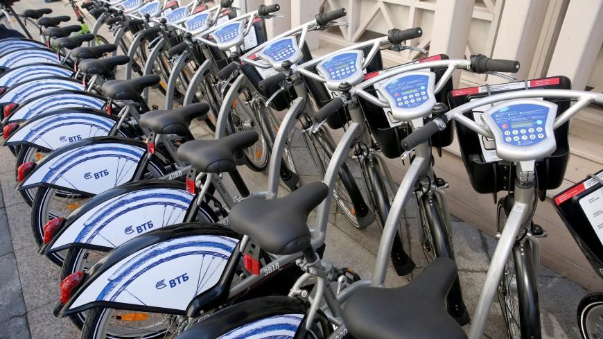 В Москве на время ЧМ заработал специальный тариф велопроката